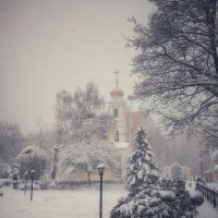Заснеженный храм :: Екатерррина Полунина