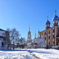 Рязанский кремль. Храмы.... :: Galina Leskova
