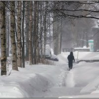 Город Онега. Центр. :: Валентин Кузьмин