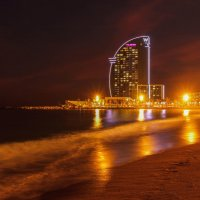 Барселона. Ночь. Пляж :: Дмитрий .