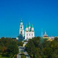 Вид сверху, Астраханский кремль :: Инна Церульнёва