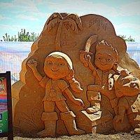 Выставка песчаных фигур в Коломенском. :: Владимир Драгунский