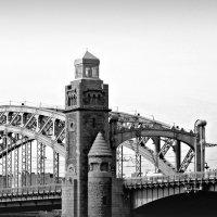 Мост Петра Великого. :: Марина Харченкова