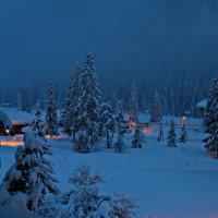 Раннее утро в Альпах :: Валерий Нестеров