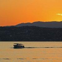 Закат на озере Гарда :: skijumper Иванов