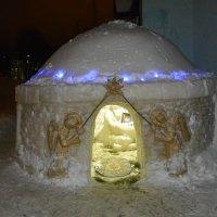 Снежный Рождественский вертеп :: Владимир Никольский