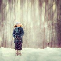 один в лесу :: Ольга Лебедева