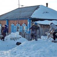 Снежный бой :: Светлана Рябова-Шатунова