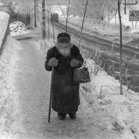 В Серпухове зимой много лет назад. :: Игорь Олегович Кравченко