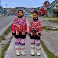 Национальный Инуитский костюм :: Георгий