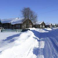 Зимняя деревня. :: Galina S*