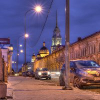 Вечерний Рыбинск. :: Maxim Semenov