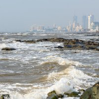Береговая линия. Мумбаи. Индия. :: Oleg
