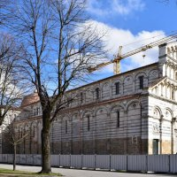 Церковь Сан Паоло а Рипа д'Арно реставрируется.. :: Galina Leskova