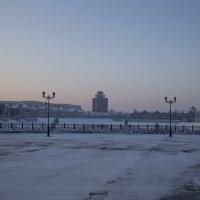 Утро красит нежным светом золотые купола.. :: Анатолий Грачев