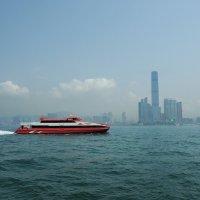 В Макао из Гонконга паромом TurboJet :: Swetlana V