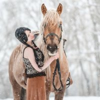 фотосессия с лошадью :: Юлия З