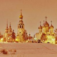 Зимний вечер в Вологде :: Сергей Никитин