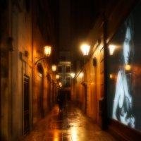 Ночной переулок. Лондон :: Алексей Саломатов