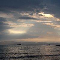 Закат на море :: -DMS-