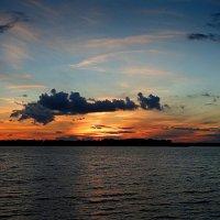 Закат на озере :: Маргарита