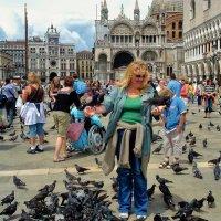 Голуби площади Сан Марко... :: Sergey Gordoff
