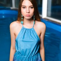 Once in the pool :: Roman Griev