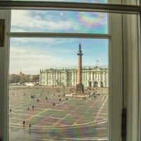 Из окна Главного Штаба :: liudmila drake