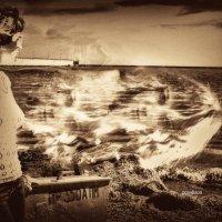 Мари когда мы вместе-я и море :: Роза Бара