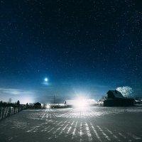 Ночь в деревне :: Татьяна Афиногенова