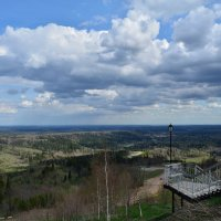 Белогорский Николаевский мужской монастырь. Вид с Белой горы :: Александр Янкин