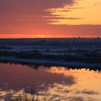Весенние рассветы из моего окна :: Екатерина Запольских