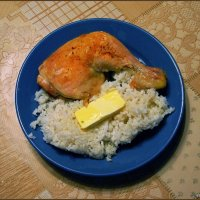Просто курица с рисом :: san05   Александр Савицкий