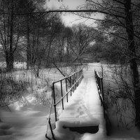 Зимний пейзаж............. :: Александр Селезнев