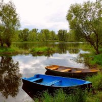 Лодки на причале... :: Лидия Бараблина