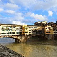 Флоренция. мост Понте-Веккьо :: Galina Leskova