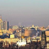 Вид с площадки на Воробьевых горах :: Ирина Via