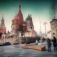 Москва.Март на исходе. :: Лара ***