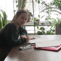 Студентка перед зачётом :: Дмитрий Никитин