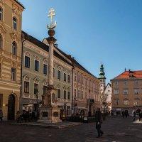 Клагенфурт. Колонна Святой Троицы. :: Надежда Лаптева