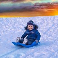 Зима весною торжествует :-) :: Sergey Koltsov