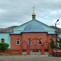 Церковь в посёлке Ухолово :: Валентина Пирогова