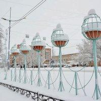Снежные купола :: юрий Амосов