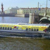 Санкт-Петербург.Биржевой мост (малая Нева). :: Игорь Олегович Кравченко