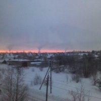 Зимний пейзаж :: Svetlana Lyaxovich