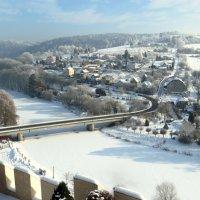 Село Чешски Штернберг. Вид с замка. :: ИРЭН@ .