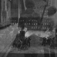 На выставке - отражения (чб вариант) :: Елена Перевозникова