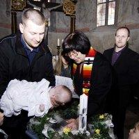 Крещение  внука  Юлиана... :: backareva.irina Бакарева