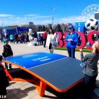 На открытии Парка футбола в Ростове-на-Дону... :: Нина Бутко