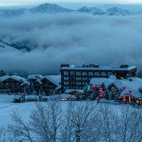 Утро в Альпах :: Наталья Левина